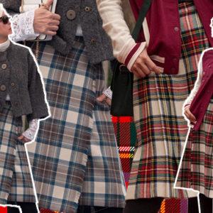 Ascoltate Carla Gozzi: torna di moda il classico kilt scozzese