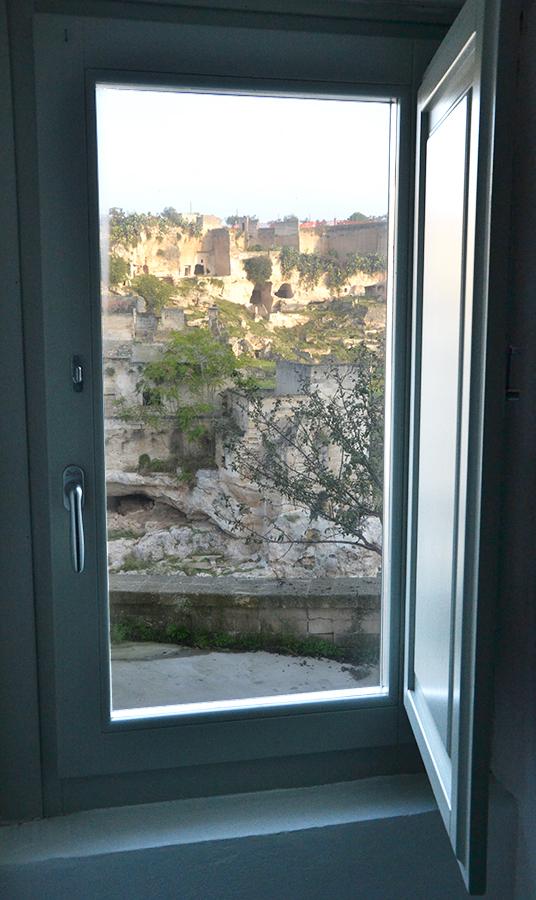 albergo finestra