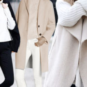 Anche d'inverno puoi vestirti di bianco, ma devi saperlo abbinare