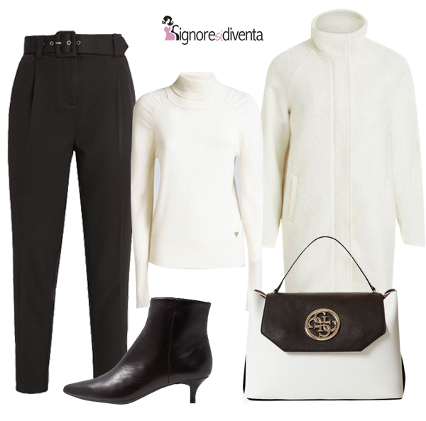 bianco -nero-outfit