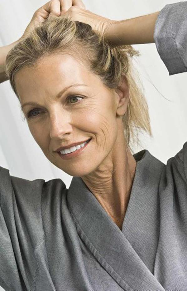 menopausa- capelli grassi