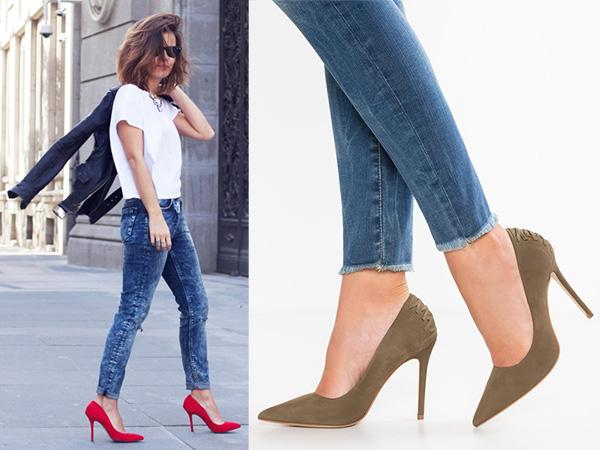 errori jeans tacchi