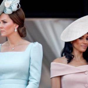 Kate e Meghan a Natale separano per la prima volta i figli di Diana