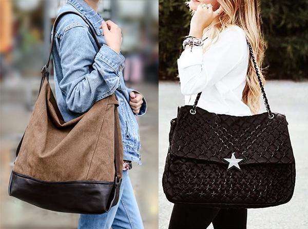 look maxi bag