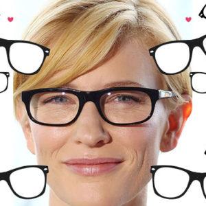 Imita le dive di Hollywood che con gli occhiali sono più sexy