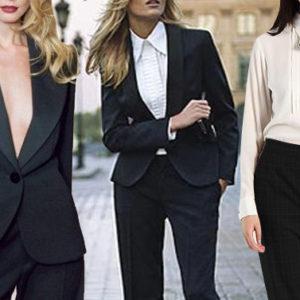 Look 50: per essere più sexy ed elegante indossa abiti maschili