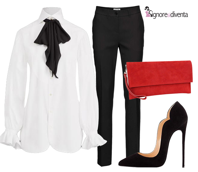 outfit blacktie