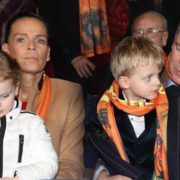 Come sono carini i principini di Monaco al circo col papà e la zia