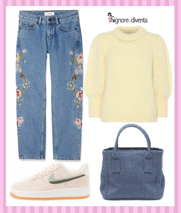 outfit pastello casual