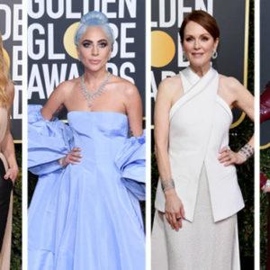 Ecco le meglio e le peggio vestite sul Red Carpet dei Golden Globe