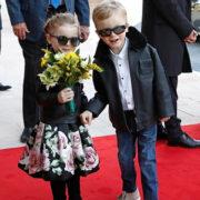 Gabriella e Jacques di Monaco si sentono già due piccole rockstar