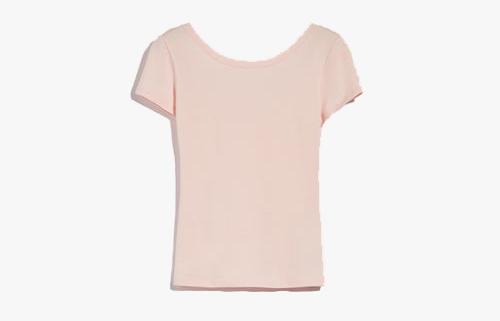 rosa cipria t shirt