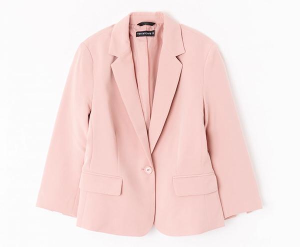 rosa cipria blazer