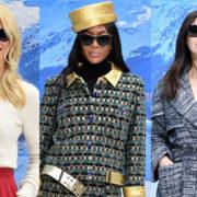 L'omaggio delle fifty Claudia, Naomi e Monica a Karl Lagerfeld