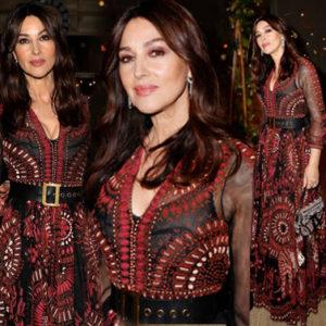 Imita Monica Bellucci: il suo look etno-chic è di gran moda