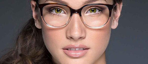 make up occhiali miopi