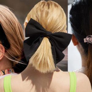 E tu li hai tutti gli accessori per i capelli da portare questa estate?