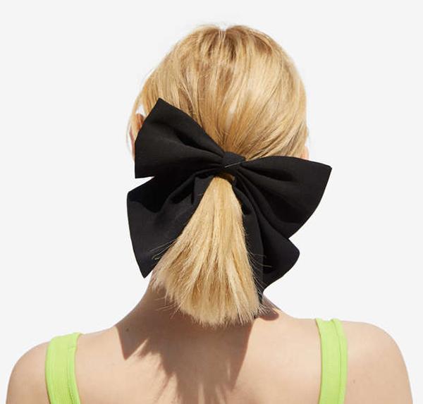 accessori per capellielastico fiocco