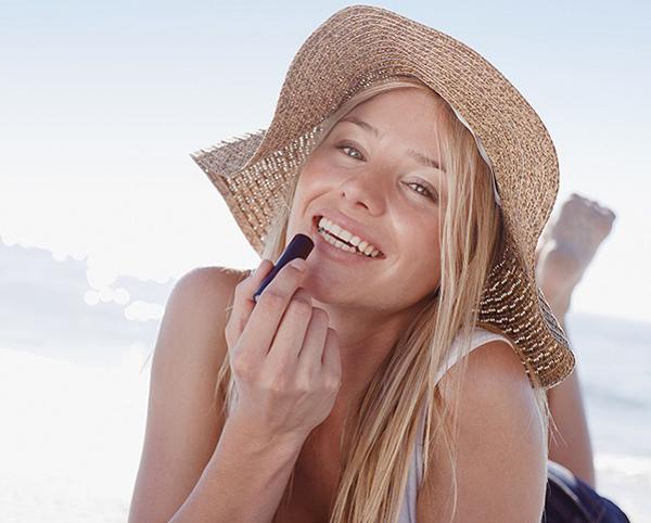 galateo da spiaggia make-up