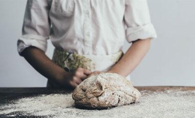 pane con acqua di mare