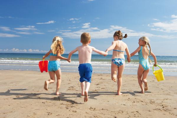 galateo da spiaggia bambini