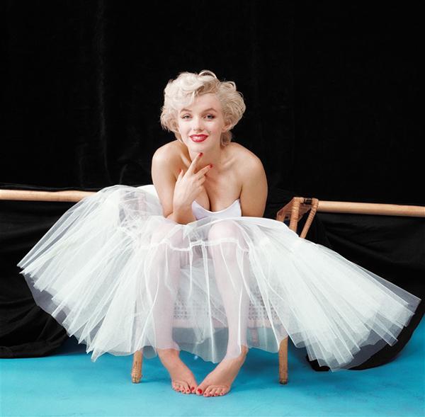 Marilyn-Monroe-Milton-Greene-Ballerina