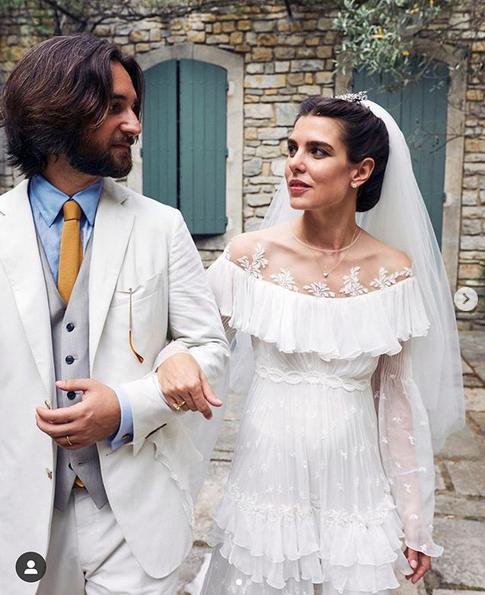 charlotte matrimonio in provenza