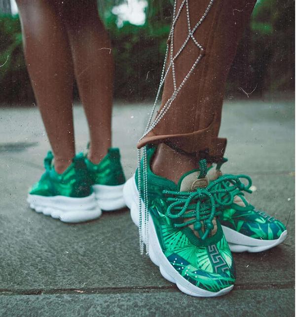 versace sneakers jennifer lopez