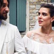 Charlotte e Dimitri di nuovo sposi: ecco le loro nozze in chiesa