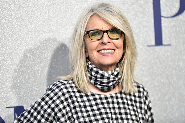 Diane Keaton single