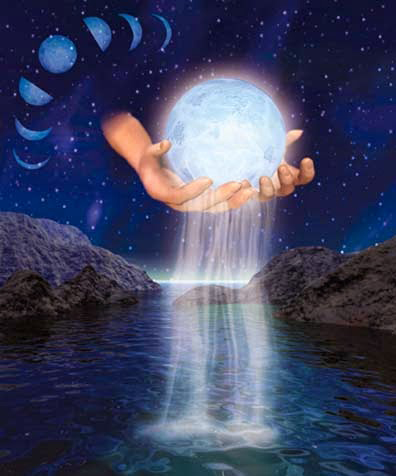 acqua di luna piena