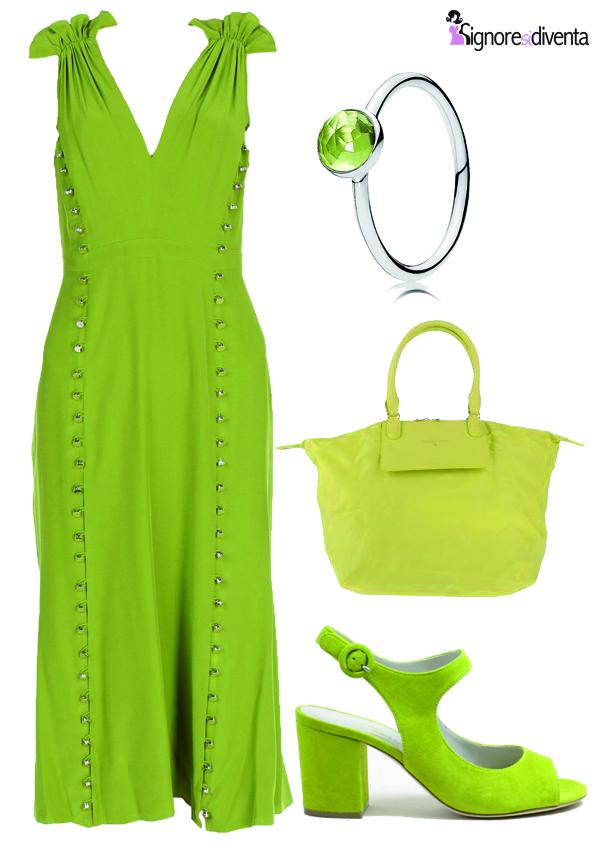 monochrome verde