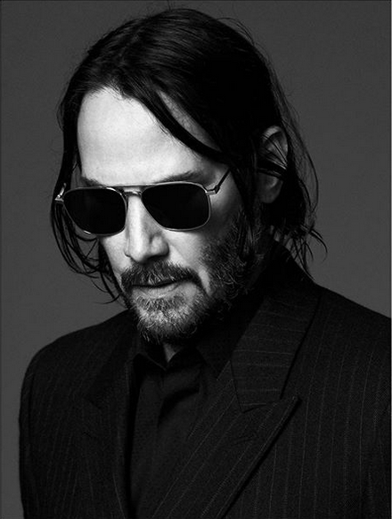 keanu reeves per yves saint laurent 4