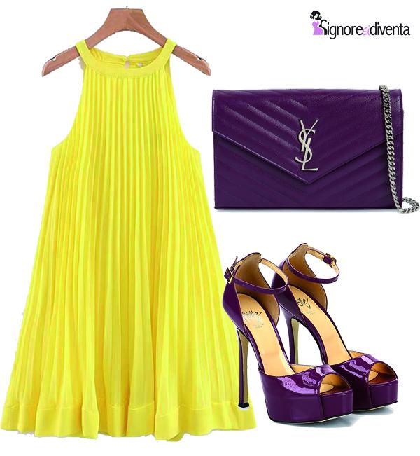 Ruota cromatica Itten outfit abbinamento colori 1
