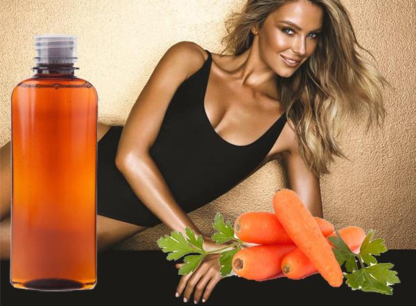 olio di carota mantenere abbronzatura