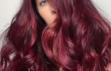 Mulled wine colori capelli