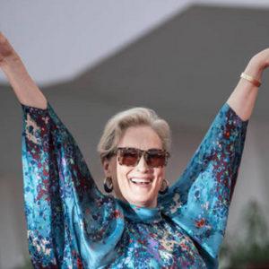 Meryl Streep mostra alle donne come si affronta la sfida all'età
