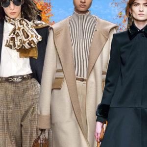 Il look dell'autunno in città sarà all'insegna dello stile borghese
