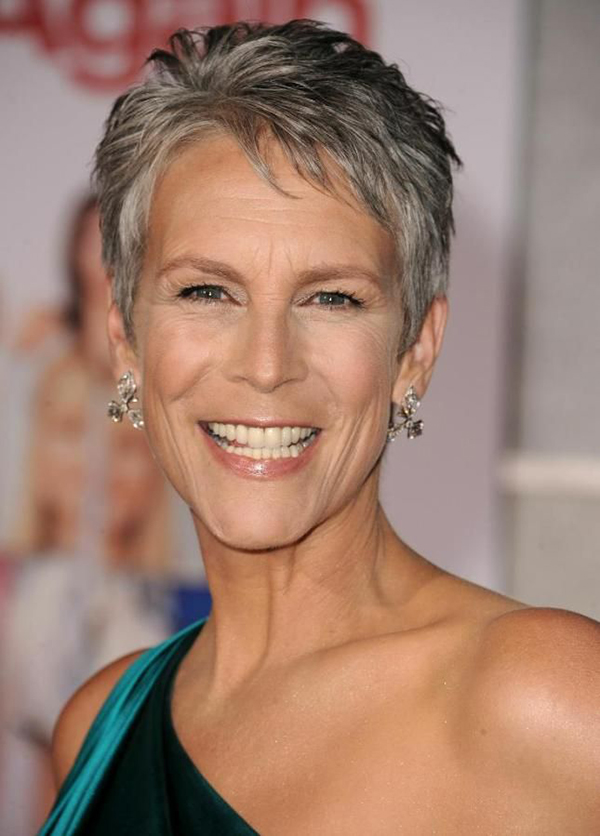 haircut capelli fini -jamie-lee-curtis