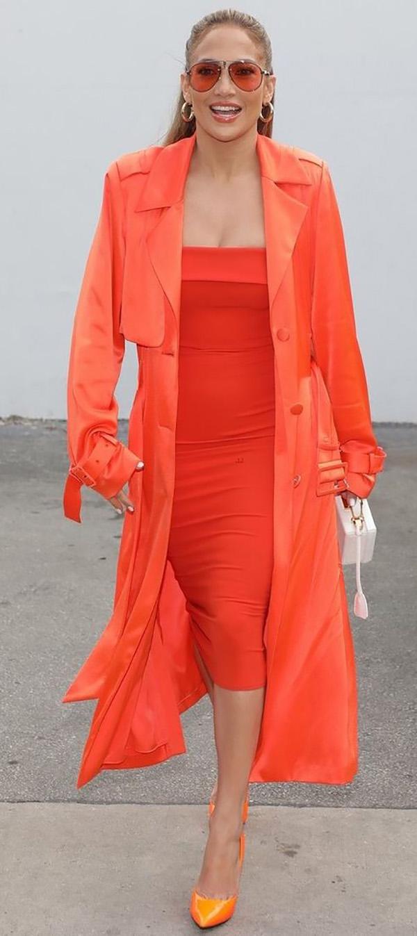 jennifer lopez full color jlo arancio