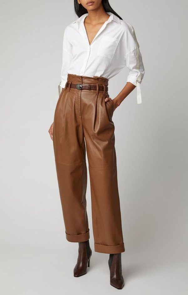 pantaloni in pelle bettybrewer
