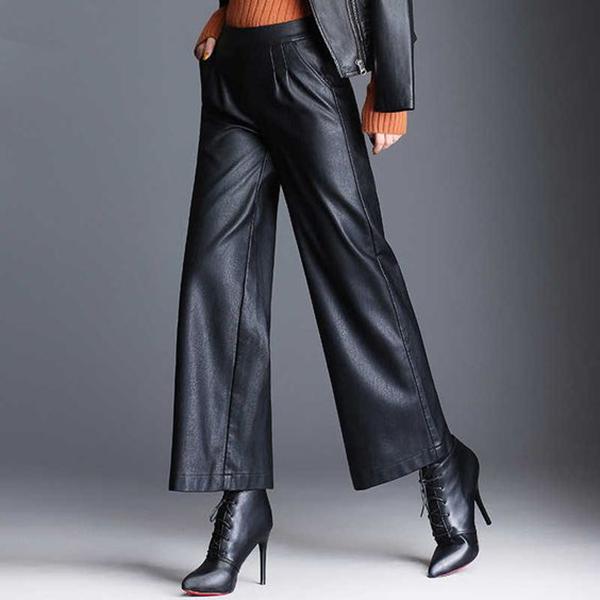 pantalone in pelle iawear