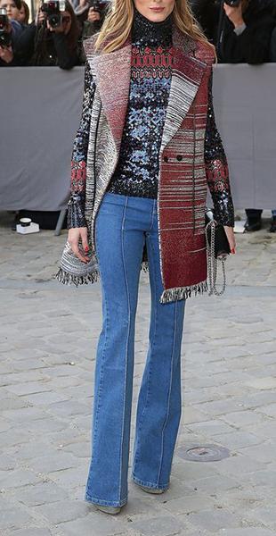 jeans cappotto fantasia