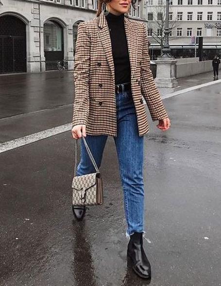 jeans e giacca