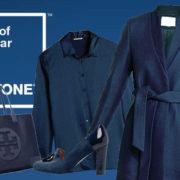Se vuoi essere di tendenza, nel 2020 devi vestirti di blu classico