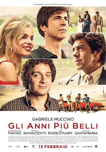 GLI ANNI PIU BELLI - poster