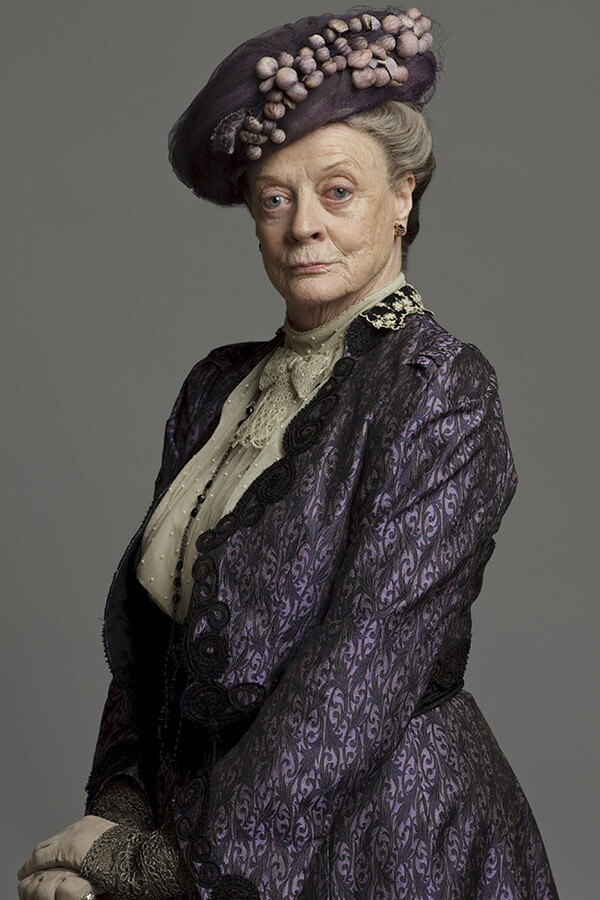 downton abbey maggie smith 2