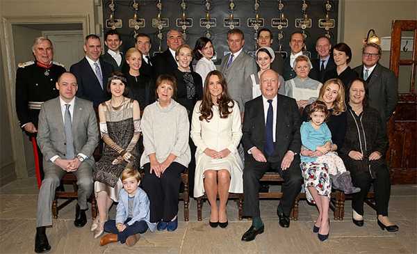 Kate Middleton dowton abbey