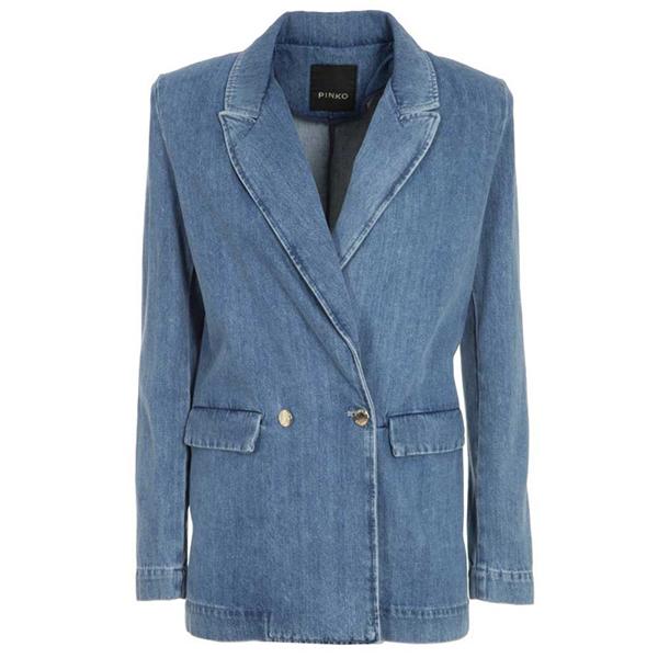 blazer-doppiopetto-in-jeans-pinko