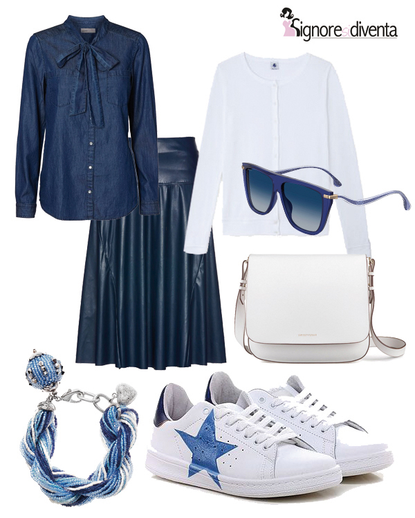 sneakers outfit ufficio